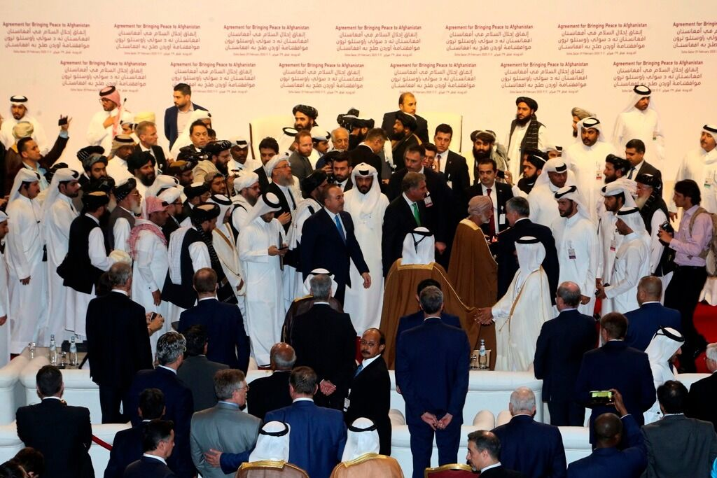 Υπεγράφη η ιστορική συμφωνία ΗΠΑ - Ταλιμπάν για το Αφγανιστάν