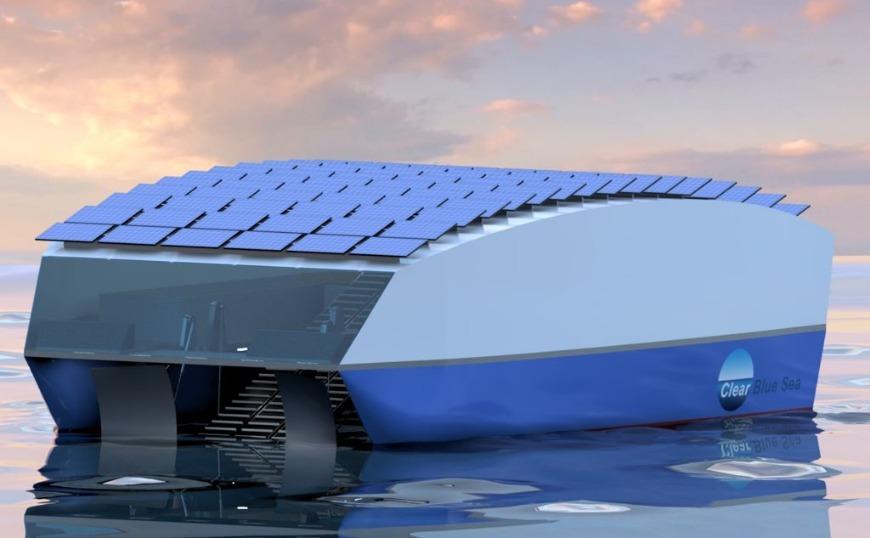 Φρεντ: το πλωτό ρομπότ που μπορεί να δώσει τη λύση για τα σκουπίδια στον Ειρηνικό Ωκεανό (video)