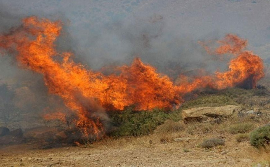 Φωτιά στον Μαραθώνα