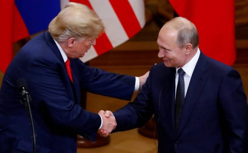 Χαμόγελα στη συνάντηση Τραμπ-Πούτιν στην G20