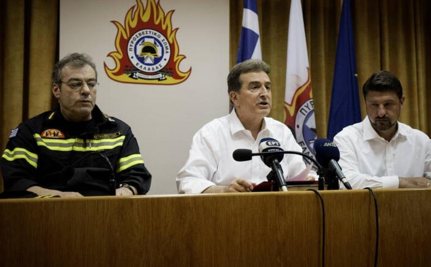 Χρυσοχοΐδης: Δεν θα φύγουμε, δεν θα κοιμηθούμε πριν περάσει κάθε κίνδυνος