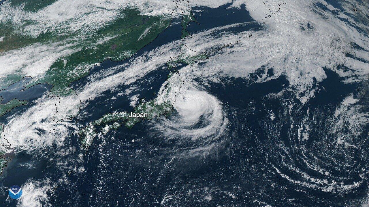 23 νεκροί στο Τόκιο από τον Τυφώνα Χαγκίμπις