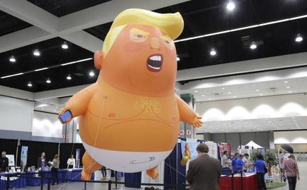 «Baby Trump»: Ξανά στους δρόμους του Λονδίνου την επόμενη εβδομάδα το μπαλόνι