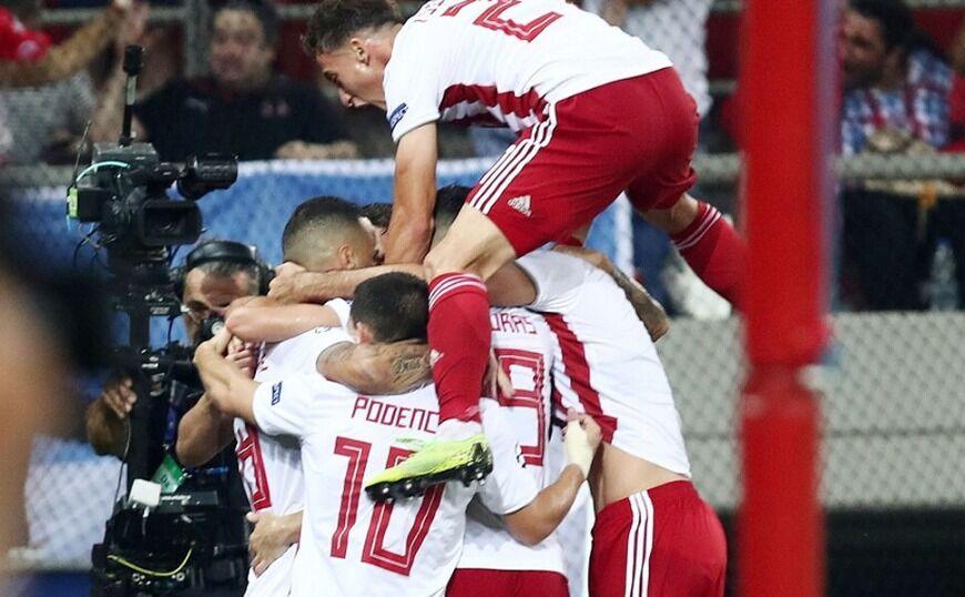Champions League: Νίκη για την Ελλάδα μετά από τέσσερα χρόνια!