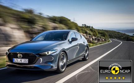 Euro NCAP: Το νέο Mazda3 κατακτά την κορυφαία διάκριση