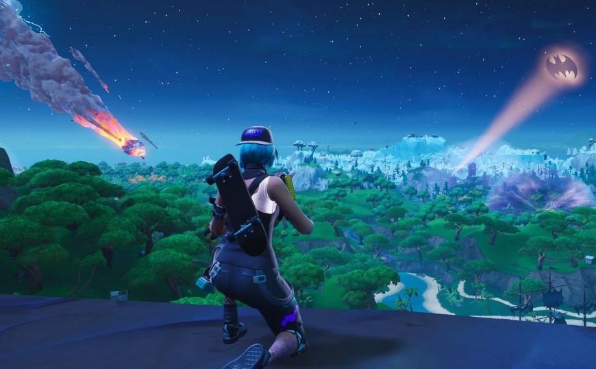 Fortnite: Καταστράφηκε από αστεροειδή το νησί του παιχνιδιού