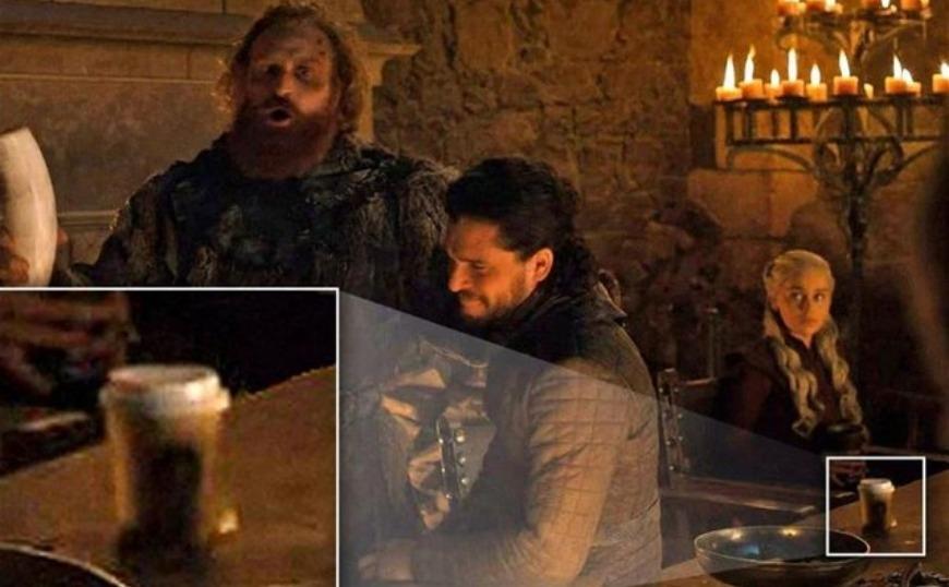 «Game of Thrones»: Γκάφα με ξεχασμένο ποτήρι των Starbucks στο σκηνικό