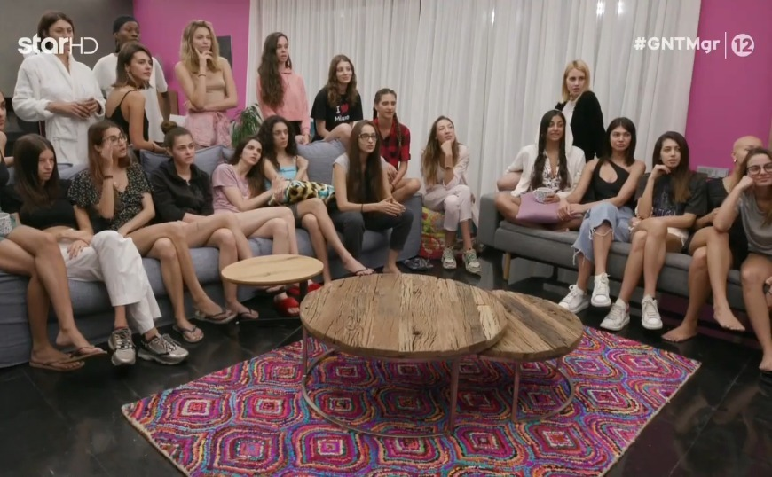 GNTM: Το σοκ των κοριτσιών όταν είδαν τη δοκιμασία! (video)