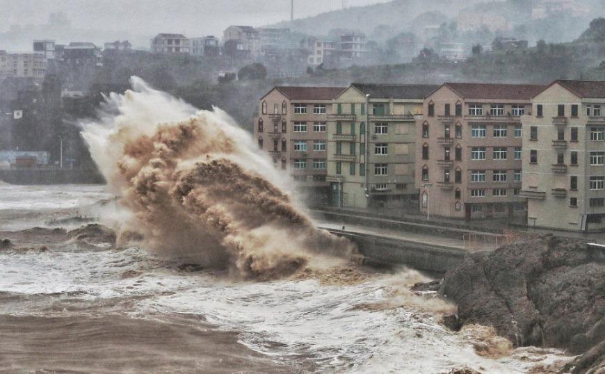 Kίνα:  Τυφώνας Λέκιμα