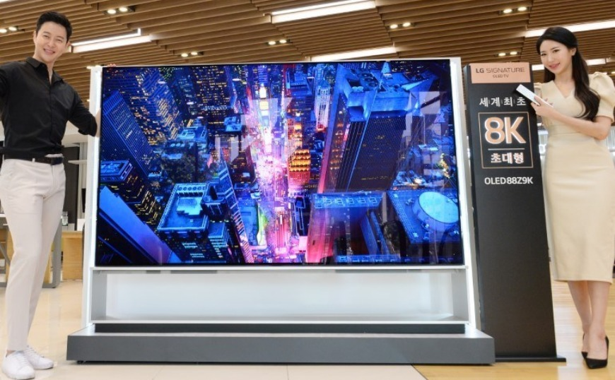 LG: Ξεκινούν οι πωλήσεις της πρώτης 8K OLED τηλεόρασης