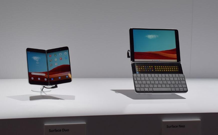 Microsoft: Παρουσίασε τα νέα της smartphones που ανοίγουν σαν βιβλίο (video)
