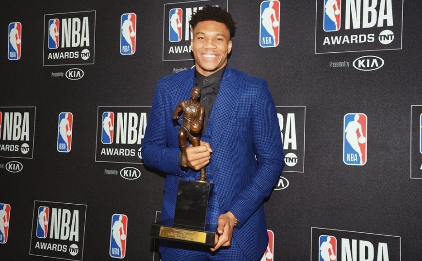 MVP στο NBA ο Γιάννης!
