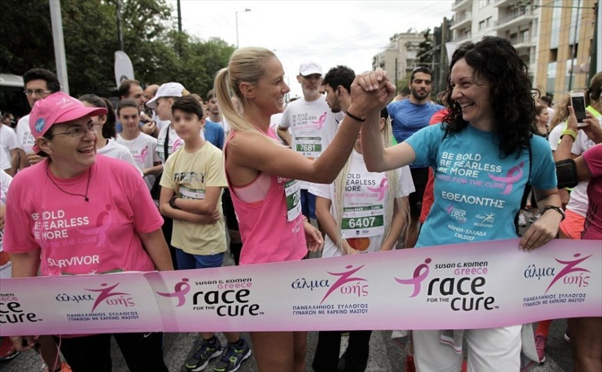 Race for the Cure: Πάνω από 36.000 δρομείς είπαν «όχι» στον καρκίνο του μαστού