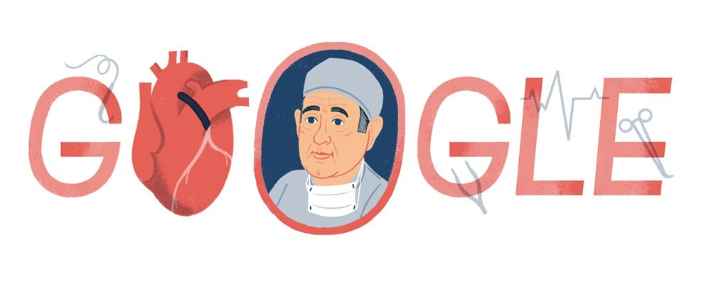 René Favaloro: Ποιος είναι ο χειρουργός που τιμά το Doodle της Google