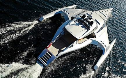 Star Trek: Το φουτουριστικό yacht του Μάρντεν στον Θεολόγο