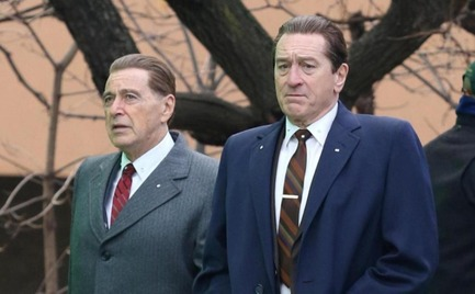 The Irishman: Η νέα ταινία του Μάρτιν Σκορτσέζε με τον αειθαλή Ρόμπερτ ντε Νίρο